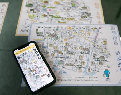 イラスト地図の楽しさとデジタルの利便性を融合。 街歩き応援アプリ「ambula」の魅力とは。