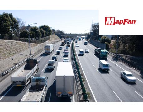 トラックのルートプランニングが可能に!業務用地図ソフト「MapFan Desktop」『ルート検索』