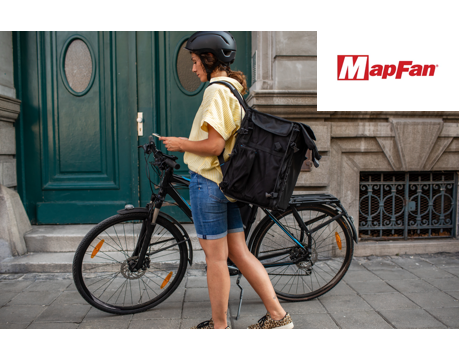 最大30地点を効率よく回れる!配達や営業回りに便利なMapFanの『マップツール』